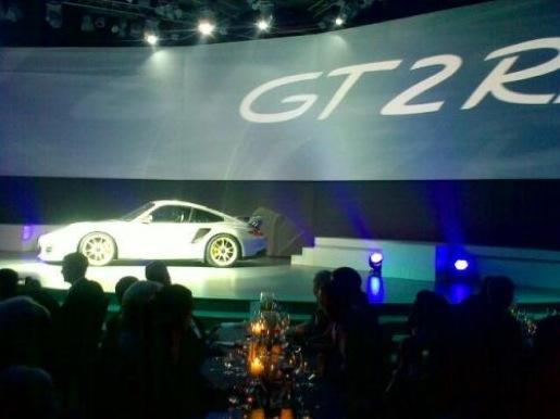 Gelekt Porsche 911 GT2 RS