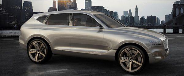Officieel: Hyundai Genesis GV80 Fuel Cell Concept SUV (2017)
