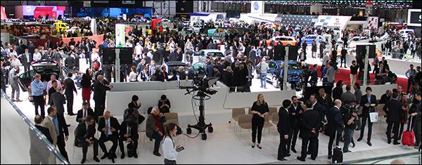 Autosalon van Genève 2015: Top 5