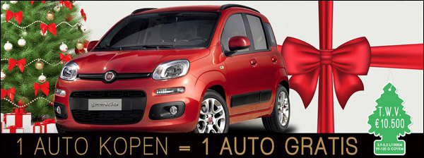 Gent Motors: 1 Fiat kopen + 1 gratis krijgen