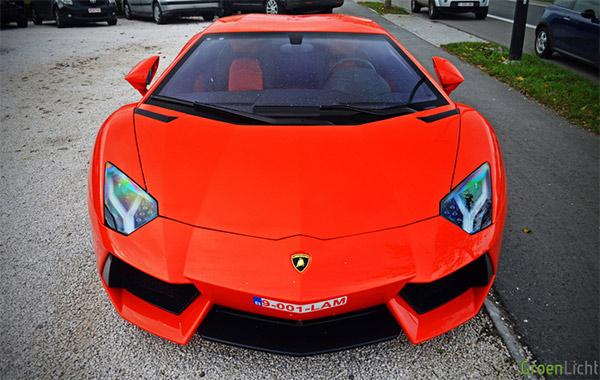 Gespot: Lamborghini Aventador LP700-4
