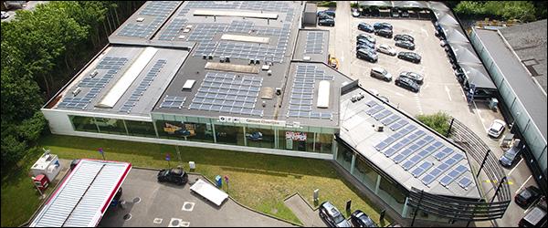 Ginion Group verkleint ecologische voetafdruk met 1.870 zonnepanelen (2020)