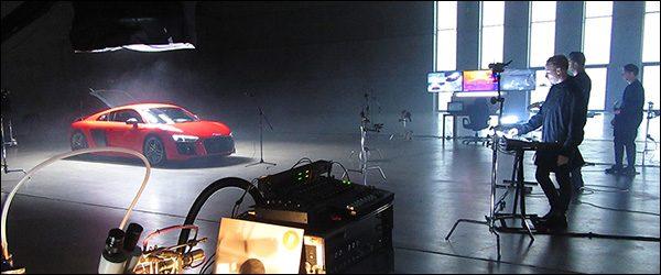 Video: Goose maakt muziek met de Audi R8 V10 Coupe