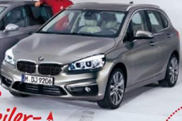 Groenlicht BMW 2-Reeks Active Tourer