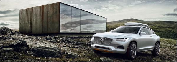 Groenlicht Volvo Concept XC Coupé