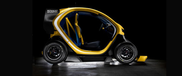 Renault Twizy F1 video