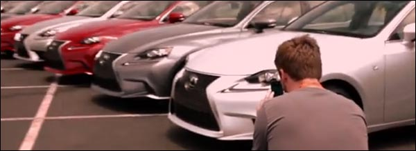 Promovideo: Met Instagram een Lexus IS promovideo maken
