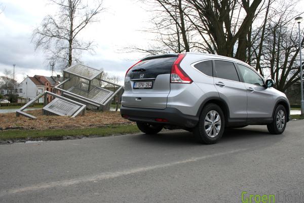 Honda CR-V 2013 test