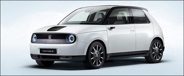 Officieel: Honda e EV (2019)