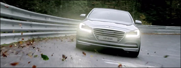 Video: Hyundai Genesis scheurt over de Nurburgring