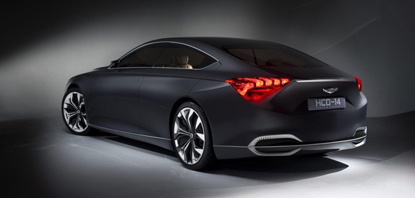 Hyundai HCD-14 Concept Rear