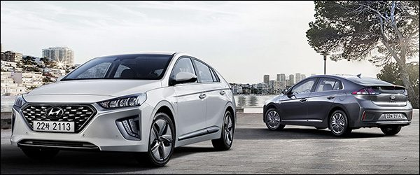 Officieel: Hyundai IONIQ Hybrid / IONIQ Plug-in facelift (2019)