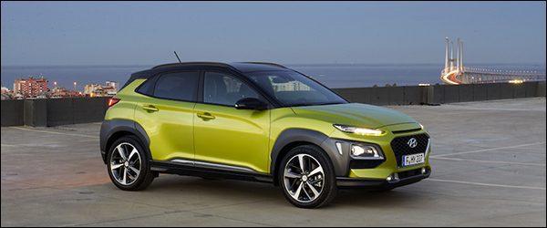 Belgische prijs Hyundai Kona: vanaf €17.899