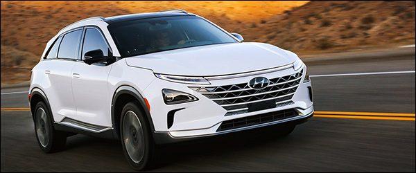 De Hyundai NEXO (FCEV) is bijna klaar