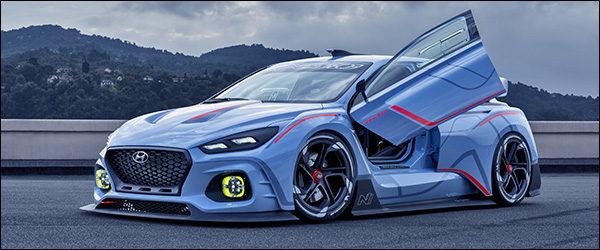 Officieel: Hyundai RN30 Concept [380 pk / 451 Nm]