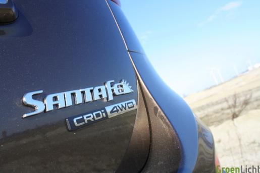 Hyundai Santa Fe 07 rijtest