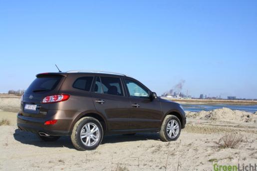 Hyundai Santa Fe 17 rijtest