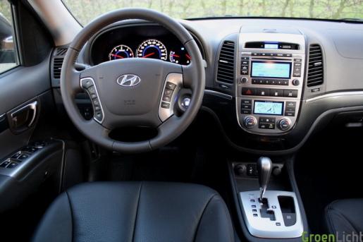 Hyundai Santa Fe 23 rijtest
