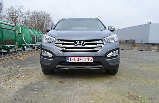 Rijtest Hyundai Santa Fe 2013