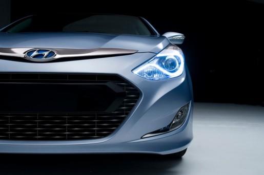 Hyundai Sonata Hybrid Teaser 1