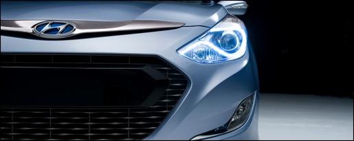 Hyundai Sonata Hybrid Teaser
