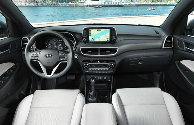 de nieuwe hyundai tucson krijgt hybride dieselmotor mee 186 pk. Black Bedroom Furniture Sets. Home Design Ideas