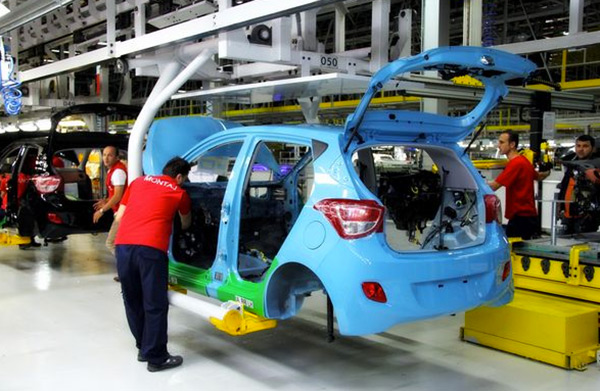 Productie Hyundai i10 gestart in Izmit, Turkije