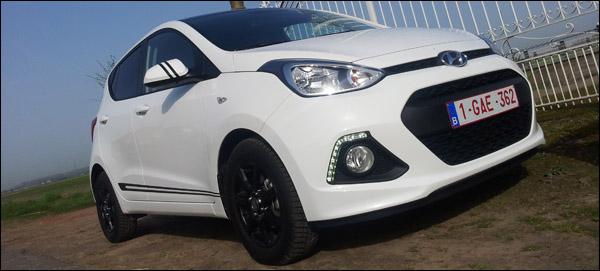 Hyundai i10 Rijtest - Header