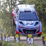 Hyundai i20 WRC kan vliegen