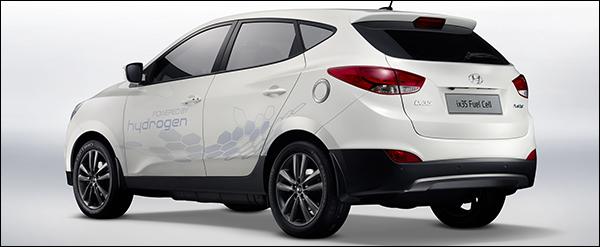 Colruyt en EU kiezen voor de Hyundai ix35 FuelCell