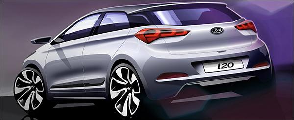 Teaser: Hyundai i20 2014