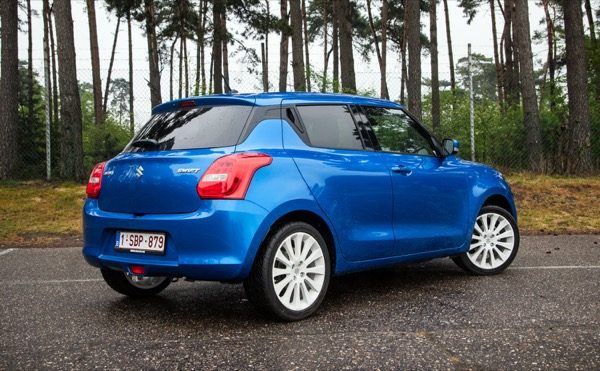 Kort Getest: Suzuki Swift (2017)