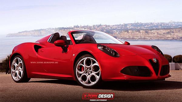 Impressie: Alfa Romeo 4C Spider