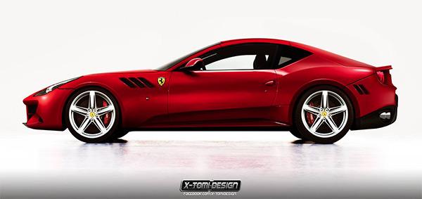 Ferrari FF Fastback Coupe X-Tomi Design