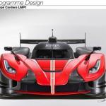 Impressie--Ferrari-LaFerrari-LMP1-Le-Mans-