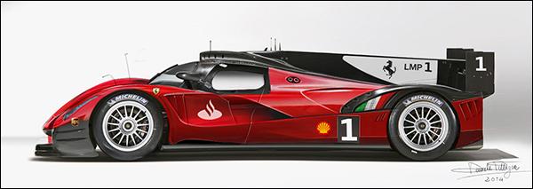 Impressie: Ferrari LaFerrari LMP1 Le Mans