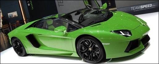 Impressie Lamborghini LP700-4 Aventador Roadster