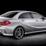 Impressie: Mercedes A-Klasse Berline