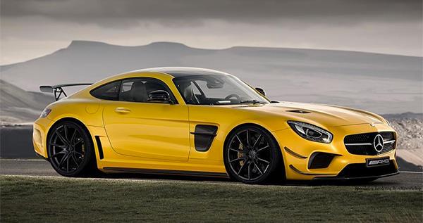Impressie: Mercedes-AMG GT Black Series