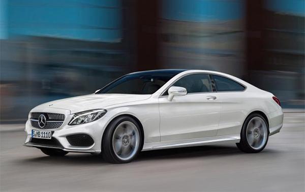Impressie: Mercedes C-Klasse Coupé oogt nu al sexy