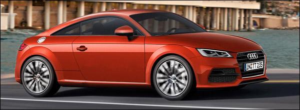 Impressie Nieuwe Audi TT 2014 - 2015