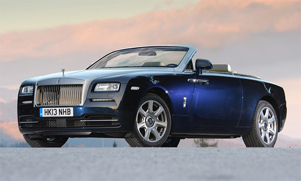 Impressie: Rolls Royce Wraith Drophead Coupe