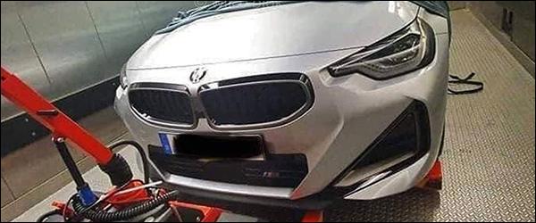Is dit de nieuwe BMW 2 Reeks Coupe G87 (2021)?