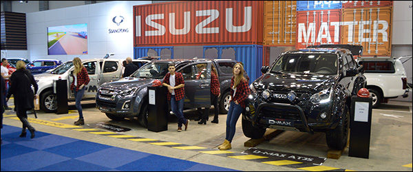 Autosalon Brussel 2017 live: Isuzu (Paleis 9)