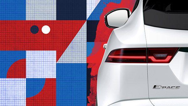 Teaser: Jaguar E-Pace SUV (2017)