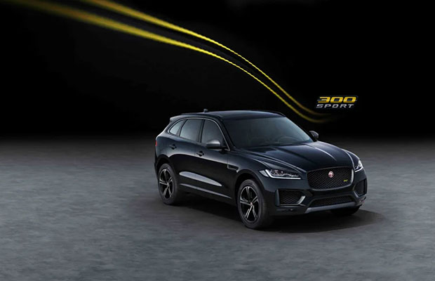 Officieel: Jaguar F-Pace Chequered Flag + 300 Sport special edition (2019) | GroenLicht.be ...