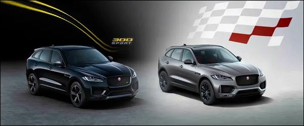 Officieel: Jaguar F-Pace Chequered Flag + 300 Sport special edition (2019)