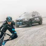 Jaguar F-Pace doet mee in de Tour de France 2015