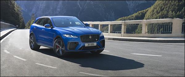 Officieel: Jaguar F-Pace SVR facelift (2020)