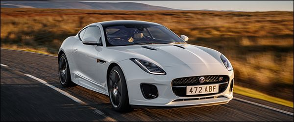 Officieel: Jaguar F-Type Chequered Flag special edition (2018)